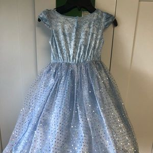 Blue PRINCESS Costume Halloween Dress Girls 5T
